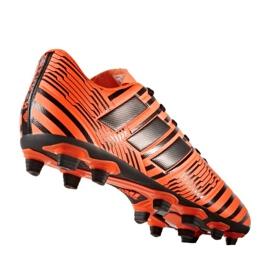 Fußballschuhe adidas Nemeziz 17.4 FxG M S80610 orange orange 1