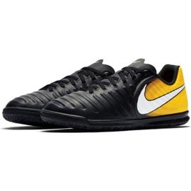 Hallenschuhe Nike TiempoX Rio Iv Ic Jr 897735-008 schwarz schwarz, gelb 2