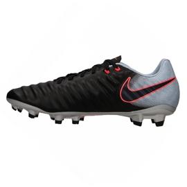 Fußballschuhe Nike Tiempo Ligera Iv Fg M 897744-004 schwarz schwarz, grau / silber 1
