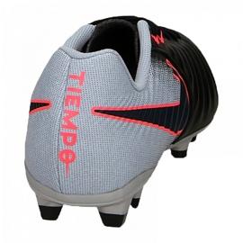 Fußballschuhe Nike Tiempo Ligera Iv Fg M 897744-004 schwarz schwarz, grau / silber 3