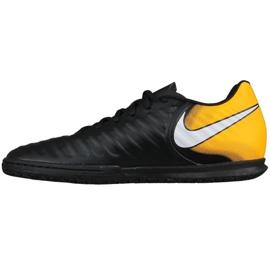 Hallenschuhe Nike TiempoX Rio Iv Ic M 897769-008 schwarz, gelb schwarz 1