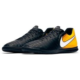 Hallenschuhe Nike TiempoX Rio Iv Ic M 897769-008 schwarz, gelb schwarz 2