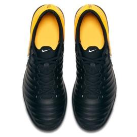 Hallenschuhe Nike TiempoX Rio Iv Ic M 897769-008 schwarz, gelb schwarz 3