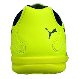 Indoor Schuhe Puma Adreno Iii In Jr 104050 09 grün gelb 1