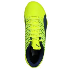 Indoor Schuhe Puma Adreno Iii In Jr 104050 09 grün gelb 2