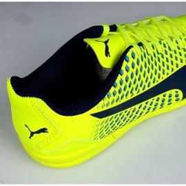 Indoor Schuhe Puma Adreno Iii In Jr 104050 09 grün gelb 3