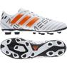 Fußballschuhe adidas Nemeziz Messi 17.4 FxG M S77199 weiß, orange weiß 2