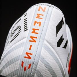 Fußballschuhe adidas Nemeziz Messi 17.4 FxG M S77199 weiß, orange weiß 7