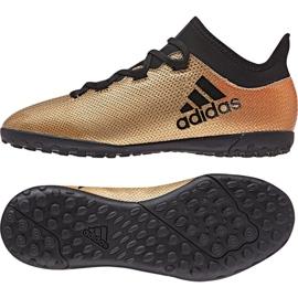 Fußballschuhe adidas X Tango 17.3 Tf Jr CP9024 gold gold 2