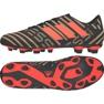 Adidas Fußballschuhe adias Nemeziz Messi 17.4 FxG M CP9046 schwarz, gold, rot schwarz 2