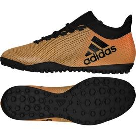 Fußballschuhe adidas X Tango 17.3 Tf M CP9135 gold, schwarz gold 3