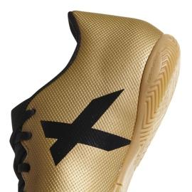 Indoor-Schuhe adidas X Tango 17.4 In M CP9149 gold, schwarz gold 3
