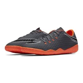 Fußballschuhe Nike Hypervenom Phantom 3 Academy Ic M AH7278-081 grau / silber grau 1