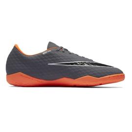 Fußballschuhe Nike Hypervenom Phantom 3 Academy Ic M AH7278-081 grau / silber grau 3