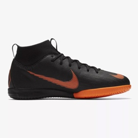 Hallenschuhe Nike Mercurial SuperflyX 6 Academy Gs Ic Jr AH7343-081 orange schwarz 1