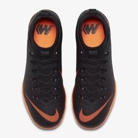 Hallenschuhe Nike Mercurial SuperflyX 6 Academy Gs Ic Jr AH7343-081 orange schwarz 2