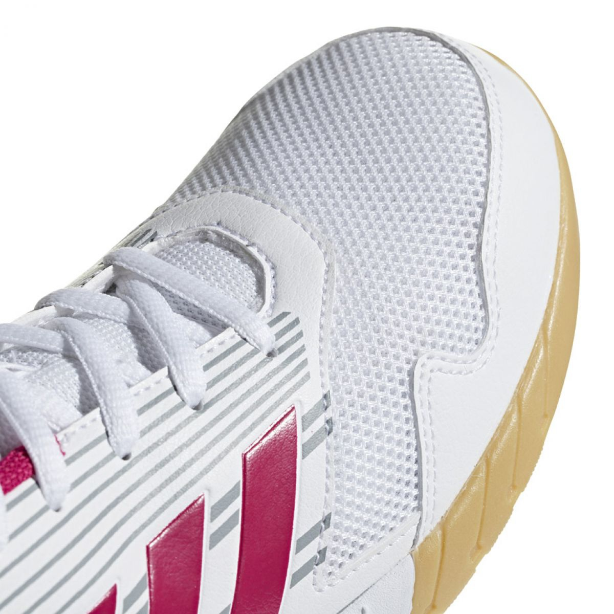 Weiß Adidas Alta Run Jr BA9427 Schuhe