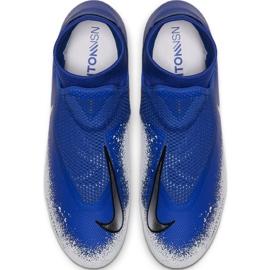 Fußballschuhe Nike Phantom VSN Academy Df FG / MG M AO3258-410 blau weiß, blau 2