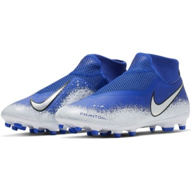 Fußballschuhe Nike Phantom VSN Academy Df FG / MG M AO3258-410 blau weiß, blau 3