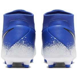 Fußballschuhe Nike Phantom VSN Academy Df FG / MG M AO3258-410 blau weiß, blau 4