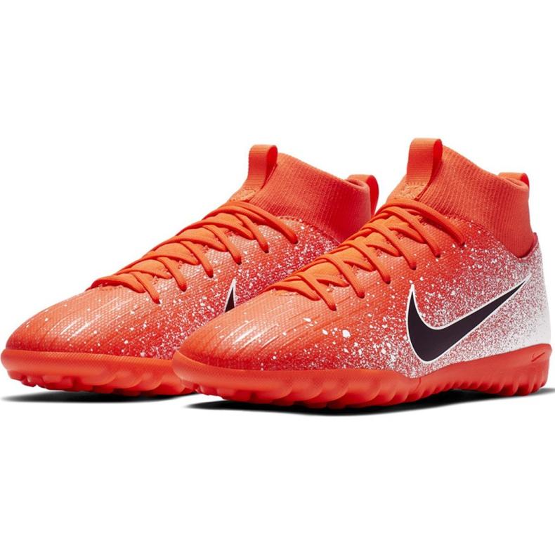 Nike Mercurial Superfly X 6 Academy Tf Jr AH7344-801 Fußballschuhe Bild 3