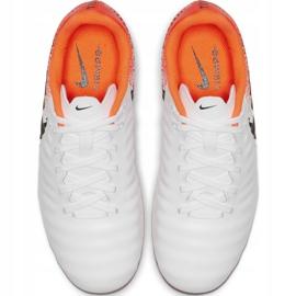 Fußballschuhe Nike Tiempo Legend 7 Academy Mg Jr AO2291-118 weiß weiß, orange 2