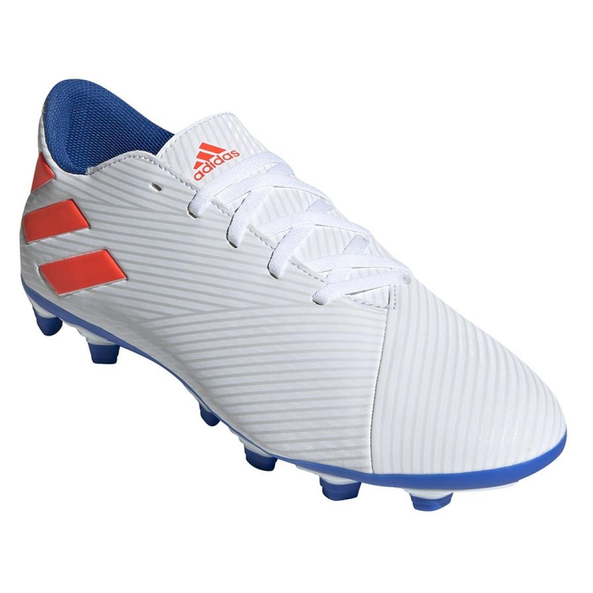 Fussballschuhe Adidas Nemeziz Messi 19 4 Fg M F34401 Weiss Weiss