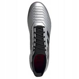 Fußballschuhe adidas Predator 19.3 Ag M F99989 silber schwarz, grau / silber 2