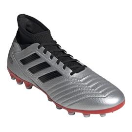 Fußballschuhe adidas Predator 19.3 Ag M F99989 silber schwarz, grau / silber 3
