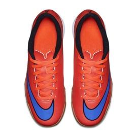 Fußballschuhe Nike Mercurial Vortex Ii Ic Jr 651643-650 rot rot 2