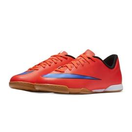 Fußballschuhe Nike Mercurial Vortex Ii Ic Jr 651643-650 rot rot 4