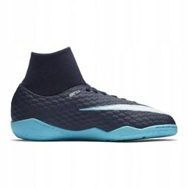 Hallenschuhe Nike HypervenomX Phelon Iii Df Ic Jr 917774-414 blau marine, blau 3