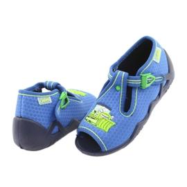 Befado Kinderschuhe 217P094 blau 5