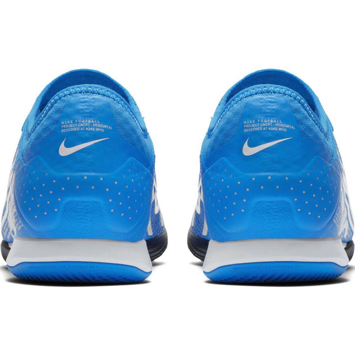 heißester Verkauf klar und unverwechselbar neues Fußballschuhe Nike Mercurial Vapor 13 Pro Ic M AT8001 414 blau