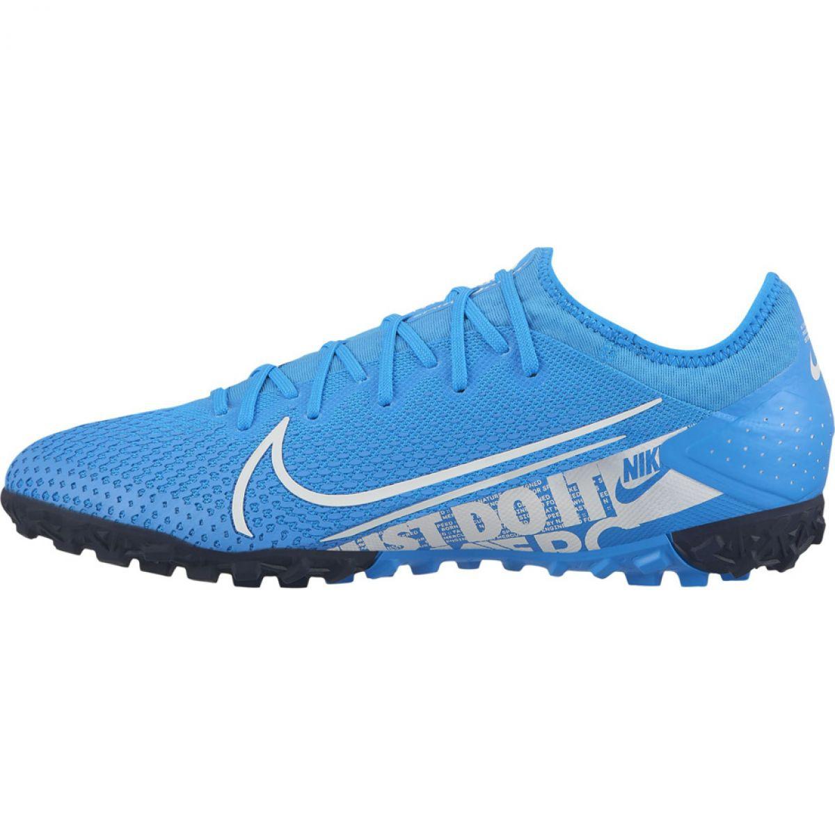 heiß-verkauf freiheit riesiges Inventar Original Kauf Fußballschuhe Nike Mercurial Vapor 13 Pro Tf M AT8004 414 blau