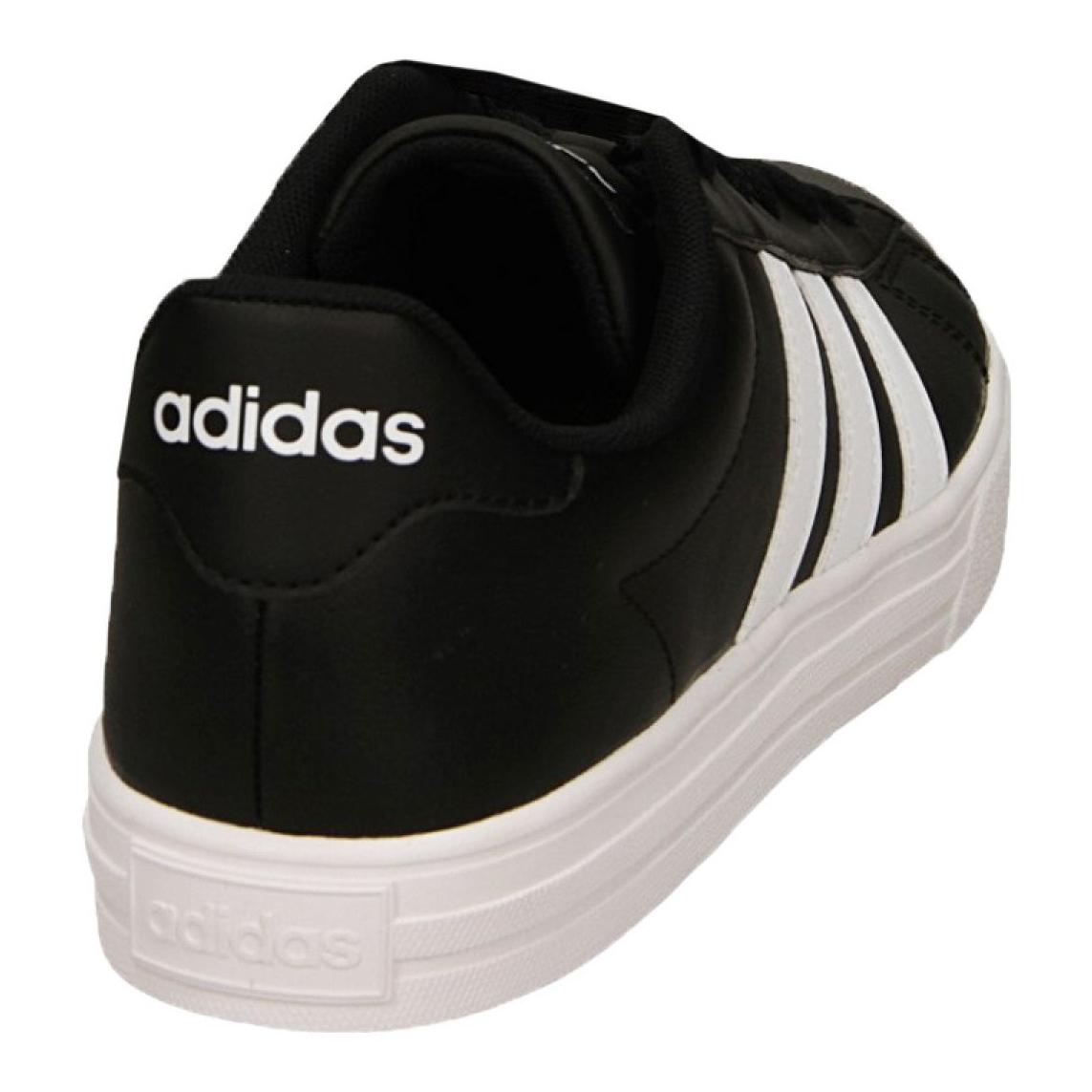 adidas Daily 2.0 Herren Sneaker Schwarz Schuhe, Größe:43 13