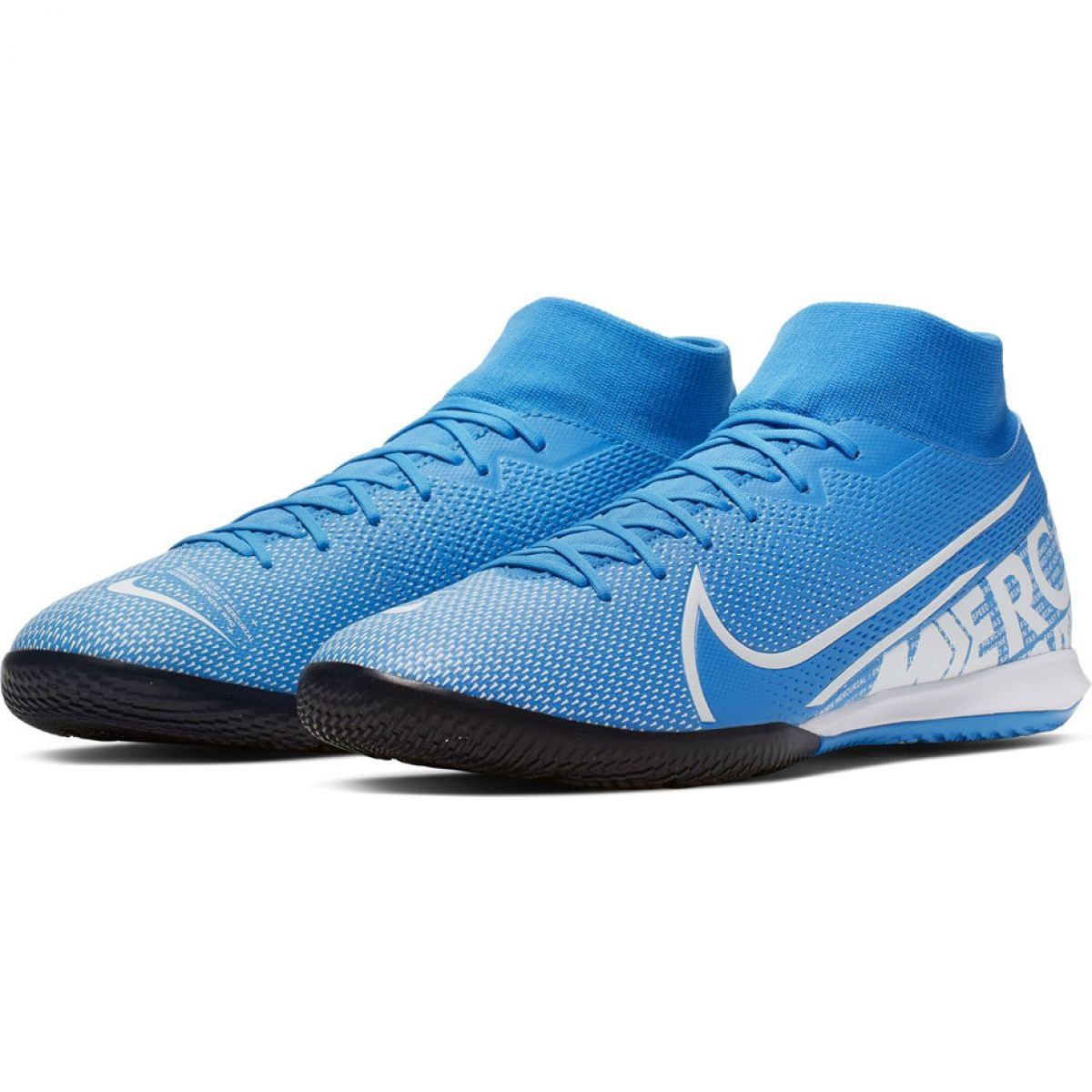 Fußballschuhe Nike Mercurial Superfly 7 Akademie Ic M AT7975 414 blau