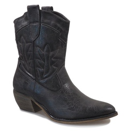 Graue Cowgirl Stiefel 10601-1 1