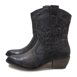 Graue Cowgirl Stiefel 10601-1 4