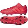 Fußballschuhe adidas Nemeziz 17.3 Fg M CP8987 rot rot 3
