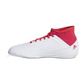 Adidas Predator Tango 18.3 In Jr CP9073 Indoor-Schuhe weiß, rot weiß 1