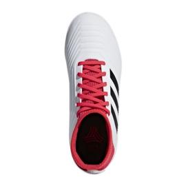 Adidas Predator Tango 18.3 In Jr CP9073 Indoor-Schuhe weiß, rot weiß 2