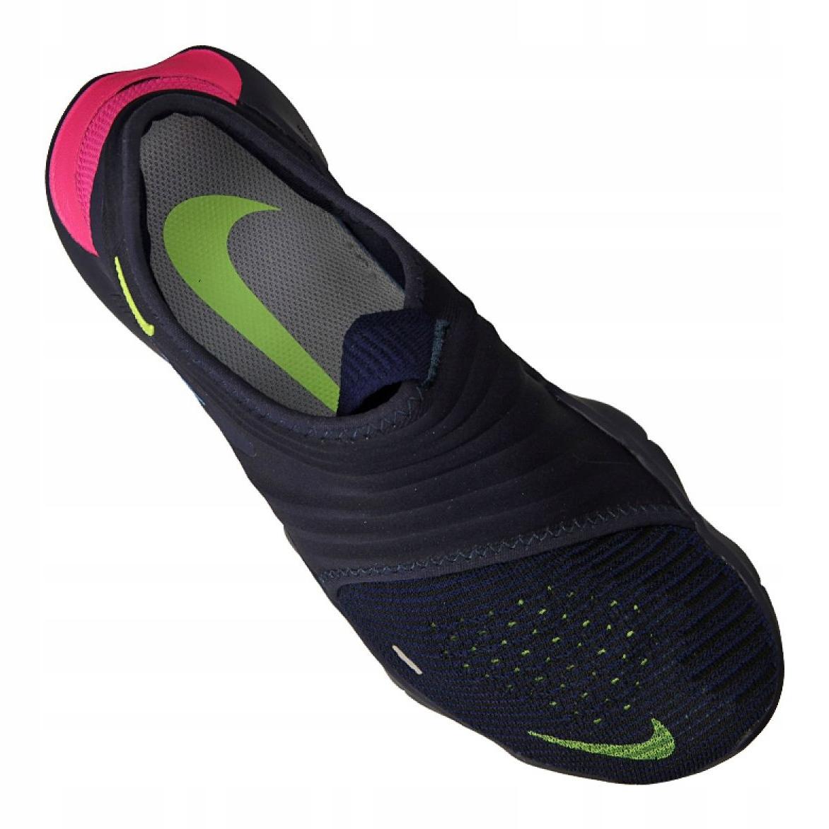 Marine Nike Free Rn Flyknit 3.0 M AQ5707 400 Schuhe