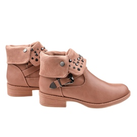 Rosa Stiefel mit einer GG-44P-Schnalle pink 2