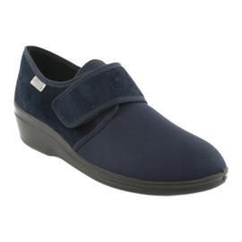 Befado Schuhe pu 033D001 marine 2
