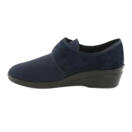 Befado Schuhe pu 033D001 marine 3