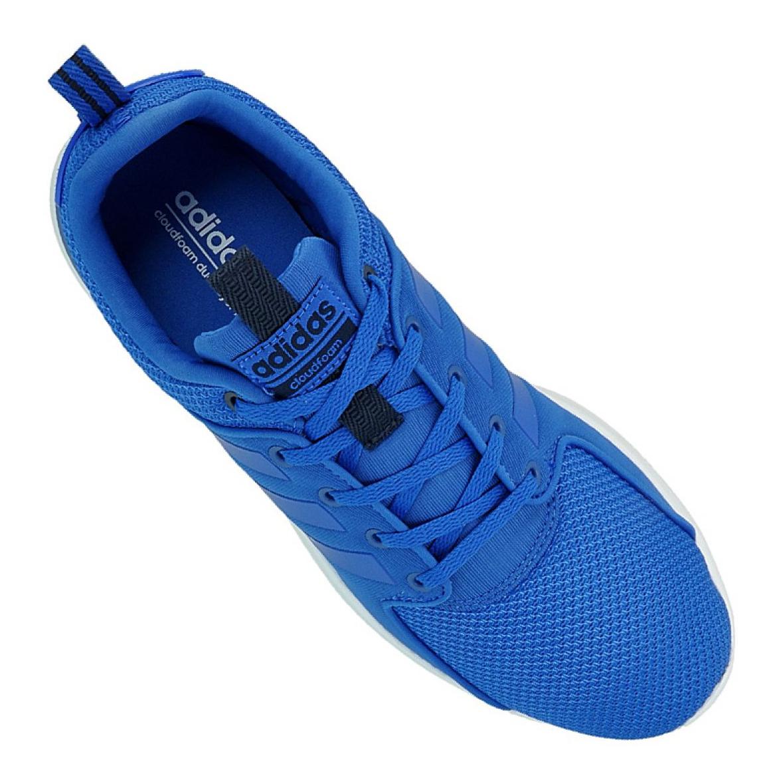 Cloudfoam Adidas halbschuhe blau AW4028 Racer Lite