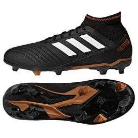 Fußballschuhe adidas Predator 18.3 Fg M CP9301 schwarz schwarz 2