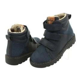 Timberki-Stiefel mit Klettverschluss American Club GC40 marine 4