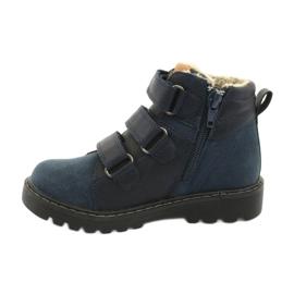 Timberki-Stiefel mit Klettverschluss American Club GC40 marine 2